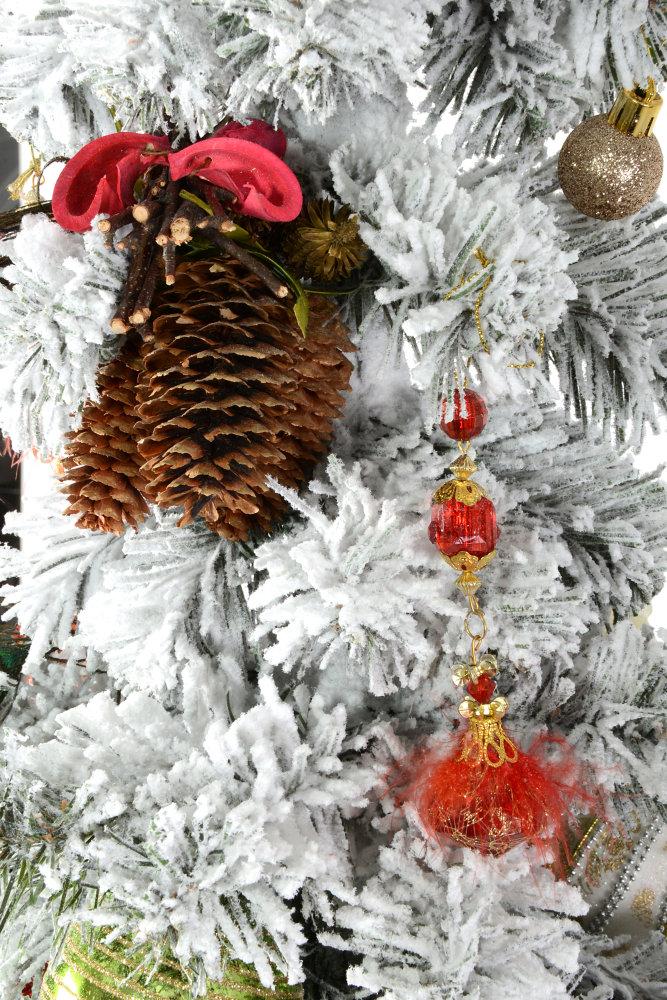 Купить BRIGHT CHRISTMAS елка с игрушками 170 см Киев ...
