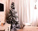 christmas tree in room