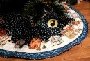 tree skirt snow village 2